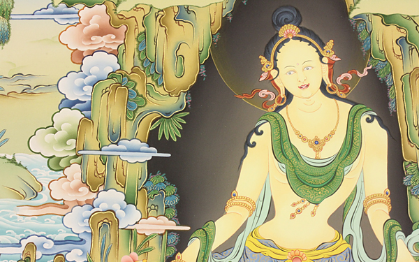 A JOURNEY TO THE WORLD OF MAHASIDDHAS – THANGKA PAINTINGS BY GESHE MÖNLAM WANGYAL JANUARY 18 – FEBRUARY 25, 2018